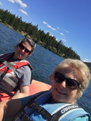 Kayaking in Spirit Lake was one of the highlights of my trip! So fun!
