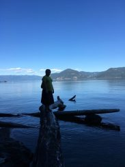 This is at the bottom. On Lake Pend Oreille