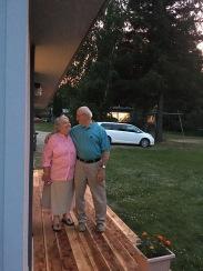 My parents sweet love.